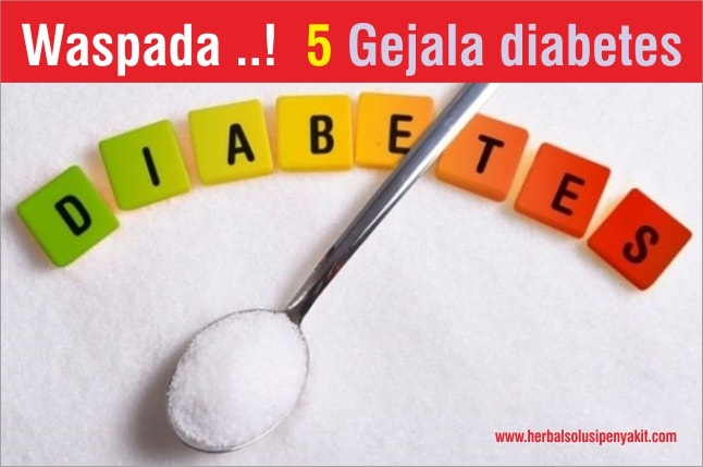 waspada 5 gejala diabetes