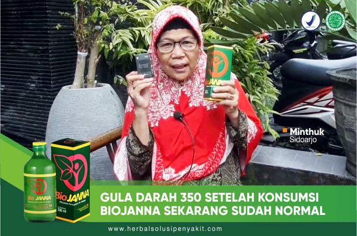 obat herbal diabetes Biojanna