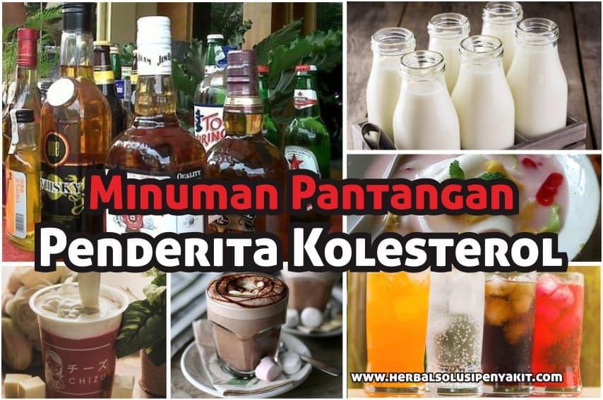 7 minuman pantangan kolesterol