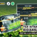 teh hitam probiotik biojanna
