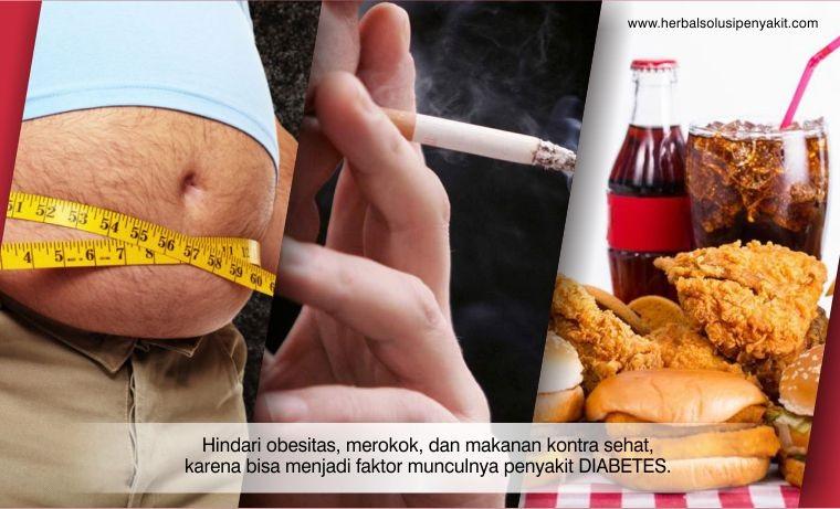 penyebab penyakit diabetes 2