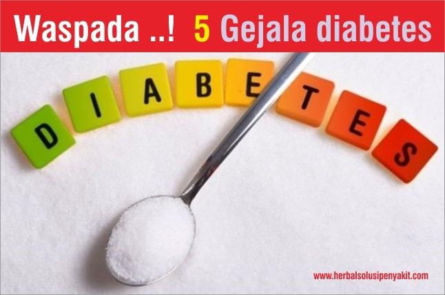 waspada 5 gejala diabetes