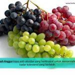 anggur cara menurunkan kolesterol