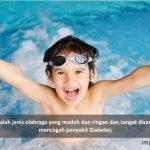 berenang efektif mencegah diabetes