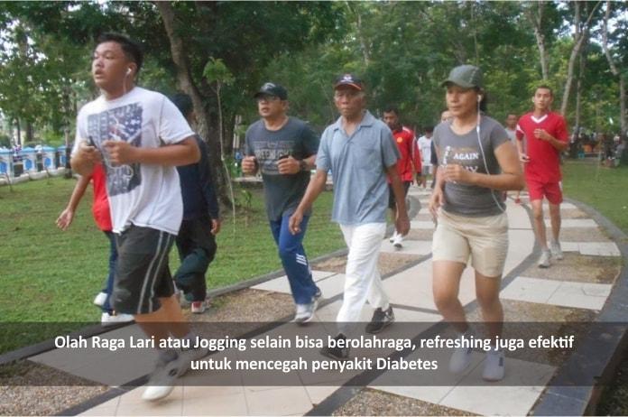 lari pagi efektif mencegah diabetes