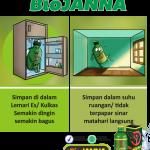 cara penyimpanan biojanna
