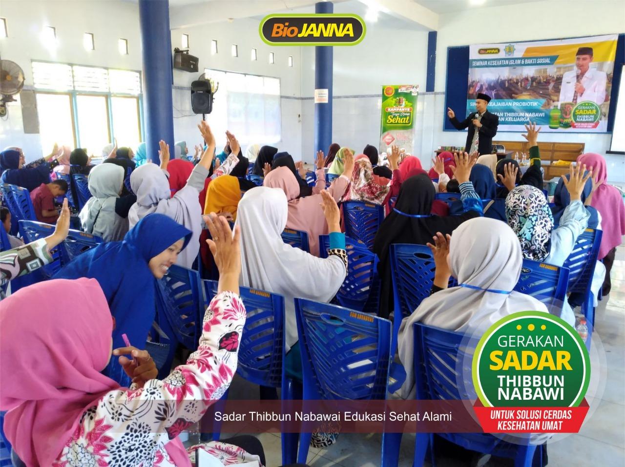 seminar biojanna dan bakti sosial