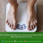 menjaga berat badan untuk kolesterol sehat