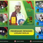 Pemenang Reward Logam Mulia