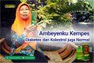 Ambeienku Kempes, Diabetes Dan Kolesterol Juga Normal